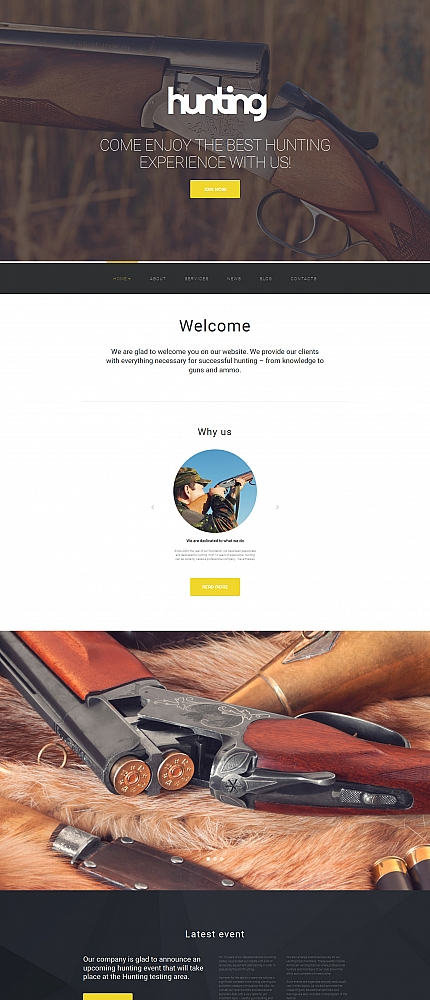 ADOBE Photoshop Template 58791 Home Page Screenshot