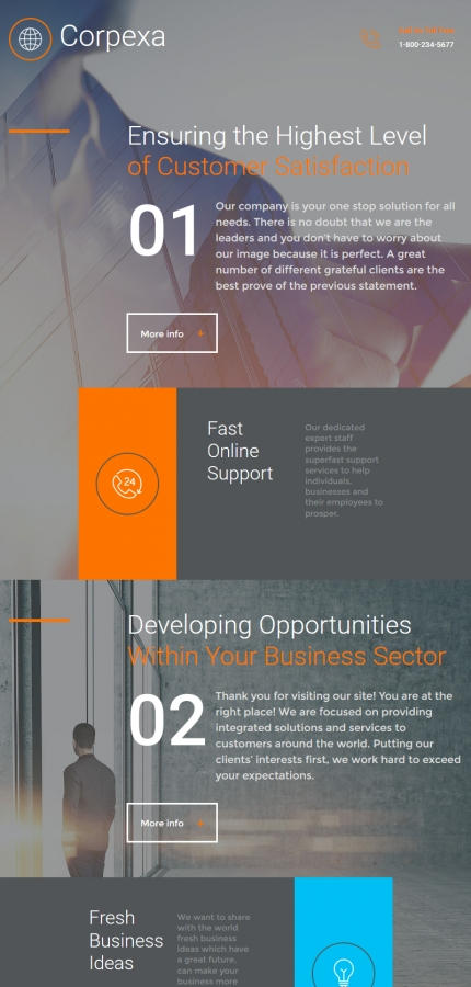 ADOBE Photoshop Template 58793 Home Page Screenshot