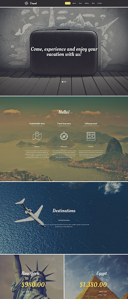 ADOBE Photoshop Template 58795 Home Page Screenshot