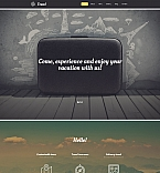 Travel Moto CMS 3  Template 58795