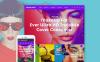 Адаптивний Шаблон сайту на тему мода New Screenshots BIG