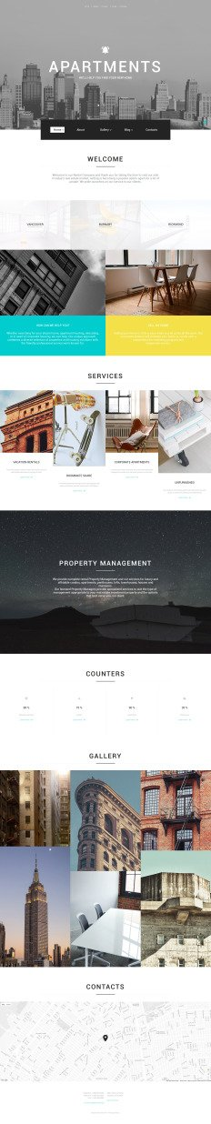 minimalist website templates Minimal Website Templates | TemplateMonster