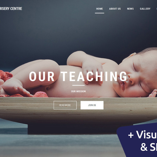 Day Nursery Center - MotoCMS 3 Template based on Bootstrap