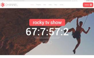 Channel Website Template