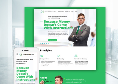Financial Advisor Bootstrap