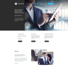 1155 best business website templates financial vision cheaphphosting Images