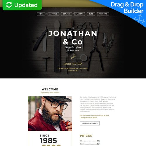 Jonathan & Co. - MotoCMS 3 Template based on Bootstrap