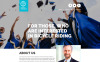 Joomla šablona Univerzitní webové stránky New Screenshots BIG