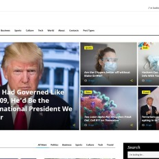responsive news portal website templates
