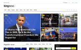 King News - Többfunkciós weboldal sablon