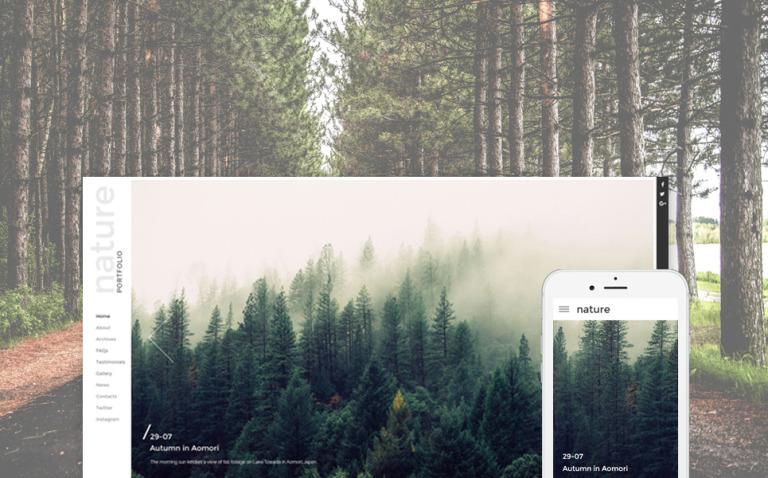 Photography Responsive Website Template New Screenshots BIG