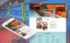 Prémium Bowling témakörű  Moto CMS HTML sablon New Screenshots BIG