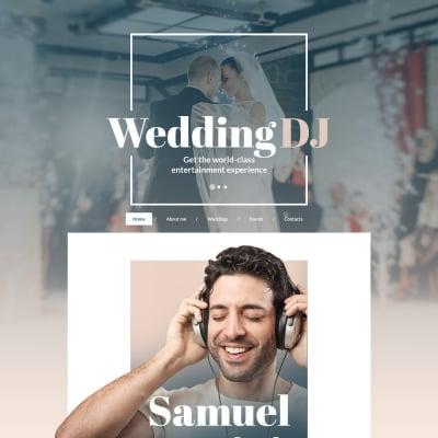 DJ Moto CMS HTML Template