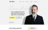 Responsywny szablon strony www Evan Robertson - Personal Multipage Clean HTML Bootstrap #58740