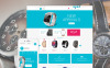 Reszponzív Watches Magento sablon New Screenshots BIG