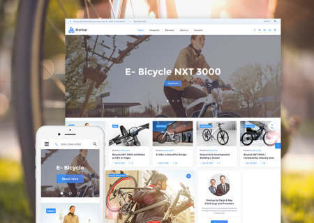 Biker Club Bootstrap