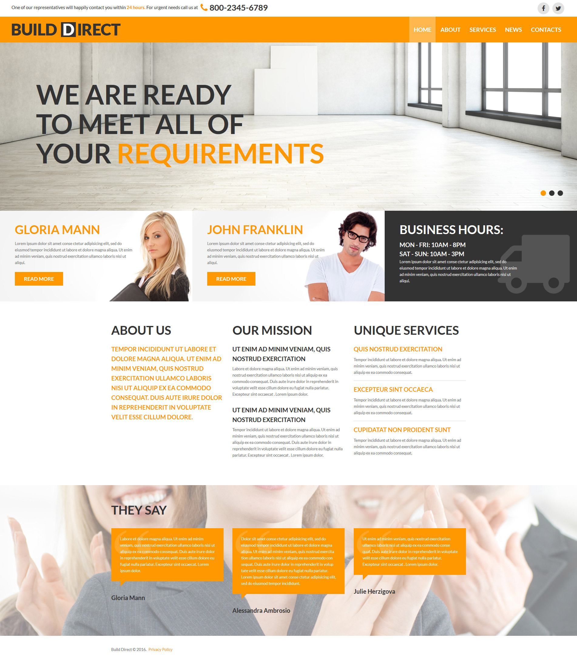 Szablon Joomla Construction Company Free Modern #58786 - zrzut ekranu