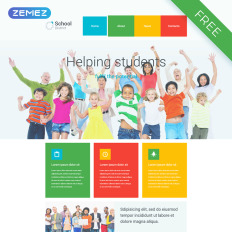 free education templates templatemonster