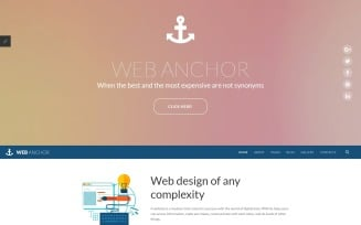 Web Anchor Joomla Template