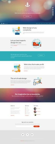design a template