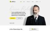 "Website Vorlage namens ""Evan Robertson - Personal Multipage Clean HTML Bootstrap"""