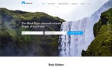 """Website Vorlage namens """"Ice Travel - Travel Agency Multipage Classic HTML5"""""""