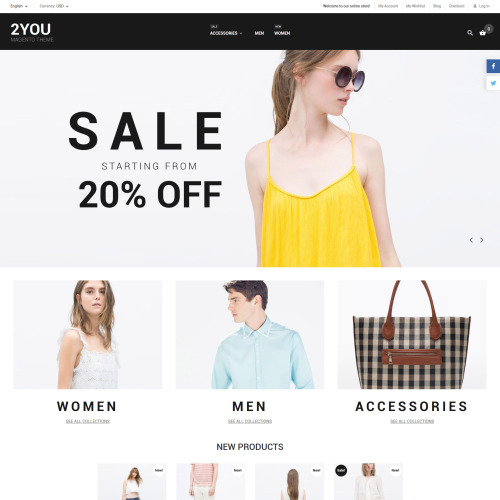 2You - Magento Template based on Bootstrap
