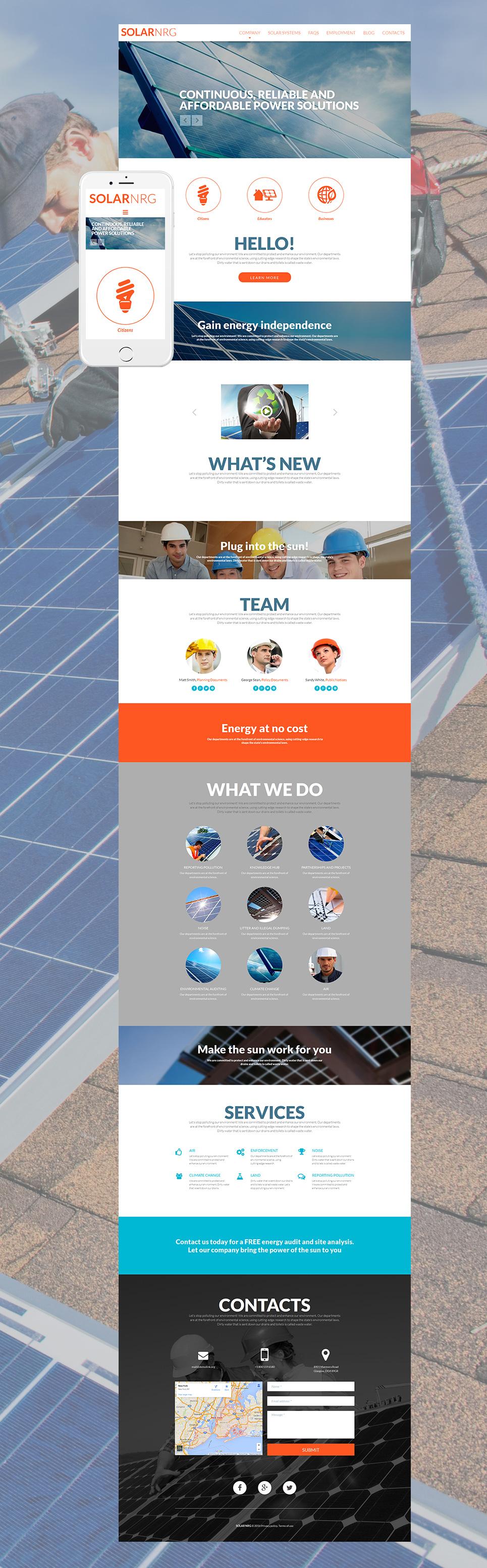 Alternative power company site