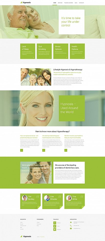 ADOBE Photoshop Template 58801 Home Page Screenshot