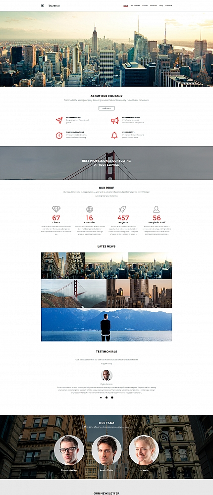 ADOBE Photoshop Template 58803 Home Page Screenshot