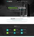 Web Hosting Moto CMS 3  Template 58805