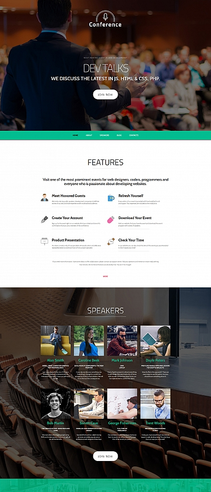 ADOBE Photoshop Template 58806 Home Page Screenshot