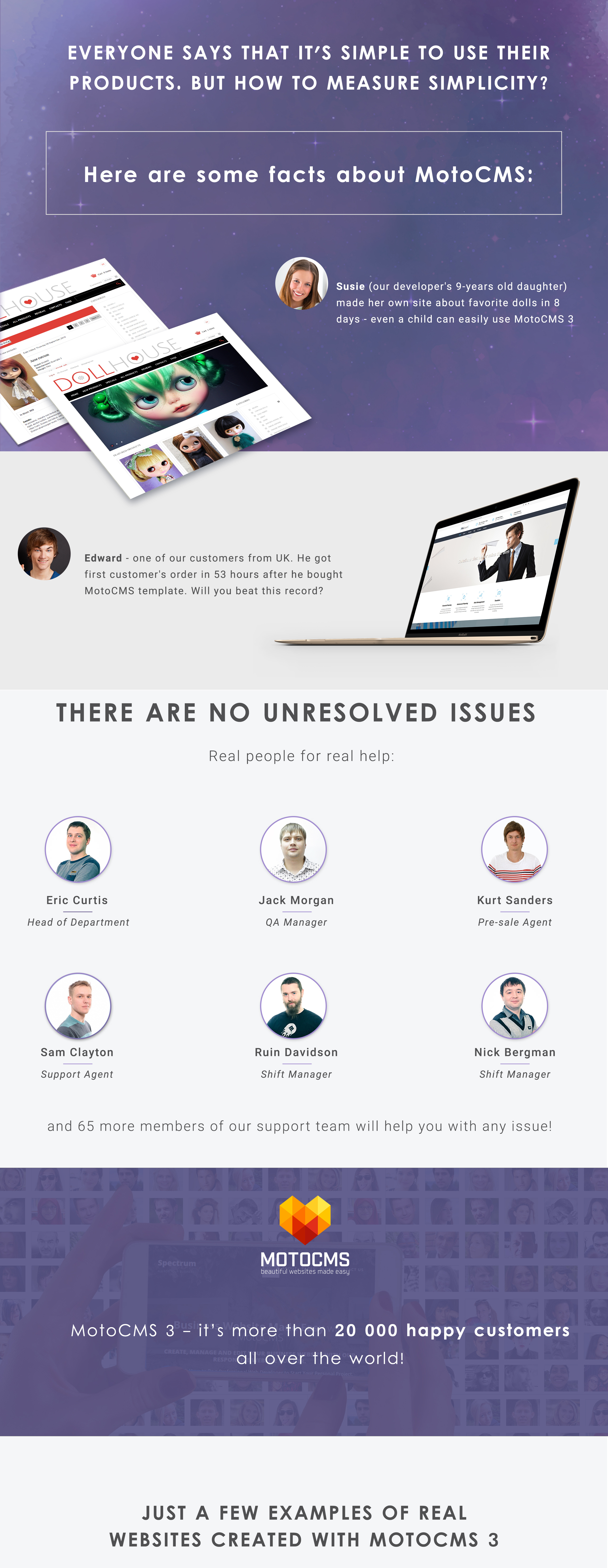 Conference Moto CMS 3 Template