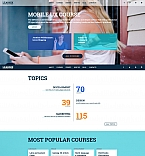 Education Moto CMS 3  Template 58808