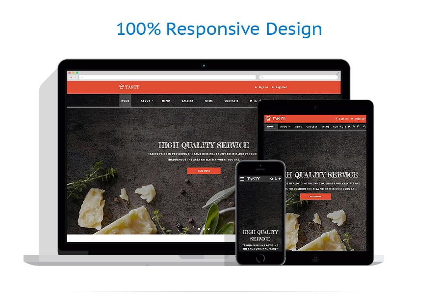 Modèles HTML5 Café et Restaurant #58809