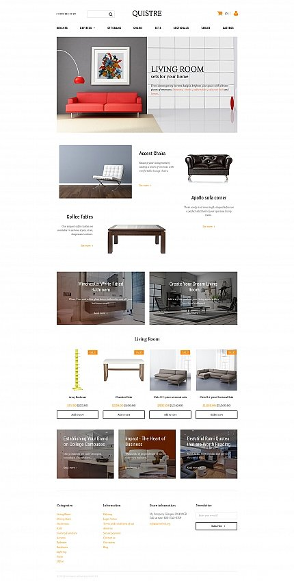 ADOBE Photoshop Template 58816 Home Page Screenshot