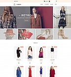 Fashion MotoCMS Ecommerce  Template 58817