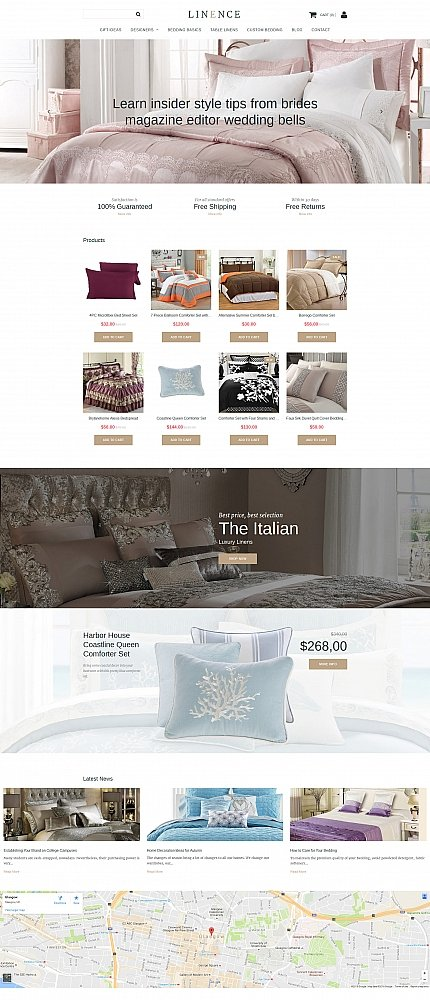 ADOBE Photoshop Template 58821 Home Page Screenshot