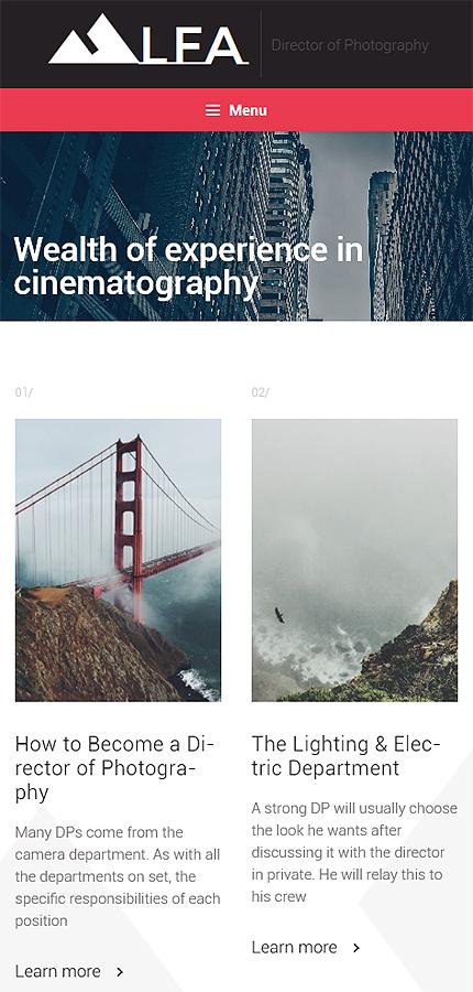 WordPress Theme/Template 58822 Main Page Screenshot