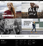 Fashion Magento Template 58831