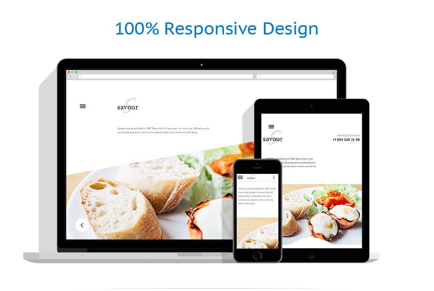 Modèles HTML5 Café et Restaurant #58833