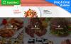 Responsivt Moto CMS 3-mall för catering New Screenshots BIG