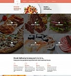Food & Drink Moto CMS 3  Template 58839