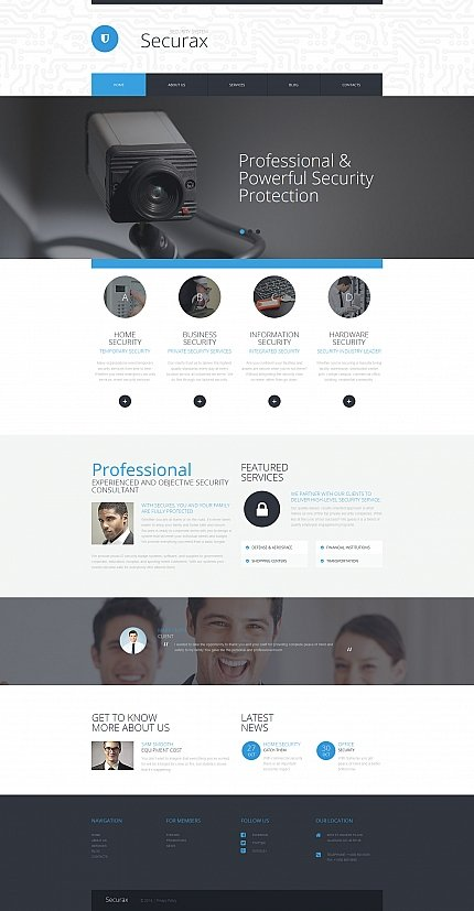 ADOBE Photoshop Template 58847 Home Page Screenshot