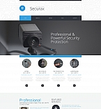 Security Moto CMS 3  Template 58847