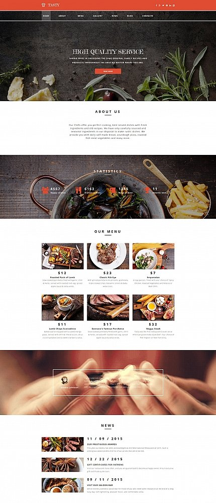 ADOBE Photoshop Template 58848 Home Page Screenshot