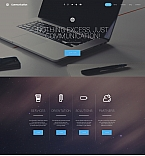 Communications Moto CMS 3  Template 58854