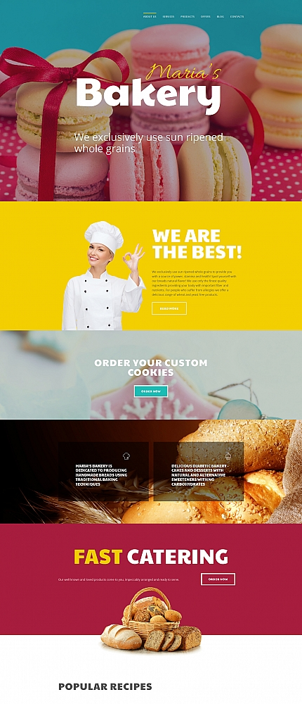 ADOBE Photoshop Template 58856 Home Page Screenshot