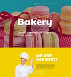 Food & Drink Moto CMS 3  Template 58856