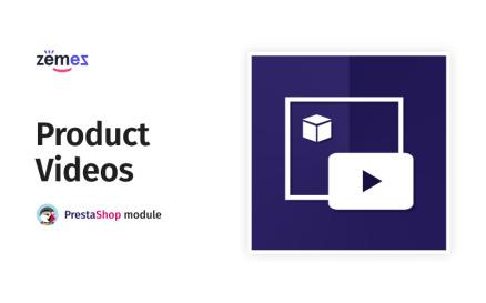 TM Product Videos PrestaShop Module